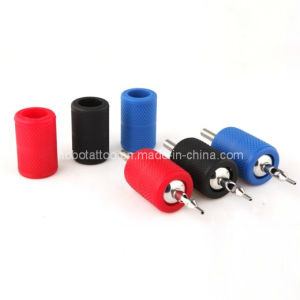 Disposable Knurled Silicone Rubber Tattoo Grip Covers pictures & photos