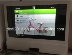 46inch Transparent Splicing LCD Showcase pictures & photos