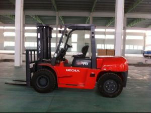 7 Ton Diesel of Forklift Truck with Japan Isuzu Engine pictures & photos