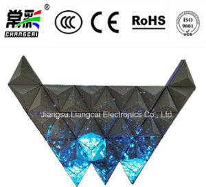 Irregular Full Color LED Video Wall for Stage Event