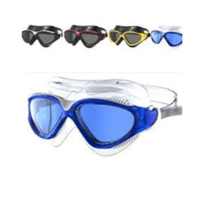 Comfortable Silicone Rubber Swim Goggles with Anti-Fog Lens pictures & photos