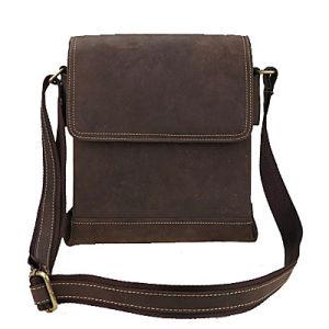 Leather Handbags Wholesale Mens Fashion Bags Casual Shoulder Bag M3065 pictures & photos