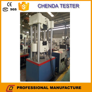 Computer Controlled Hydraulic Universal Testing Machine for Metal Sheet, Bar, Screw Tensile Strength Test 600kn pictures & photos