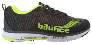 Athletic Flyknit Footwear Woven Sports Running Shoes (816-2927) pictures & photos