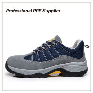 Lightweight Breathable Genuine Leather Liberty Safety Shoes pictures & photos