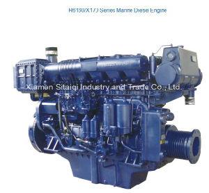 Weichai Marine Diesel Engine for Ship Vessel R6160 Series 220HP~500HP pictures & photos