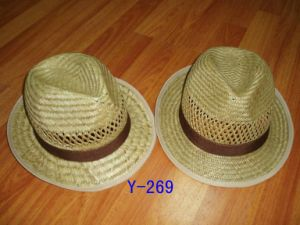 Rush Straw Fedora Hat pictures & photos