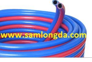 PVC Acetylene Twin Hose (9*15) pictures & photos