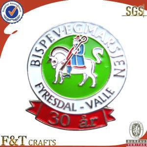 Custom High Quality Engrave Logo Badge (FTBG4080P) pictures & photos