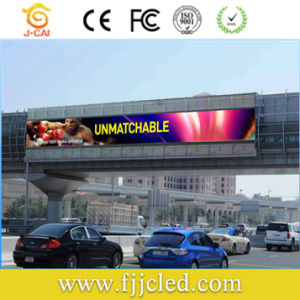 Traffic Sign P12.5 Full Color LED Sign for Outdoor Advertising Pedestrian Bridge pictures & photos