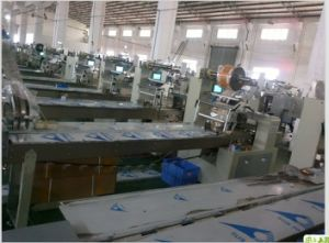 China automatic flow food packaging packing machine for for Food bar packaging machine