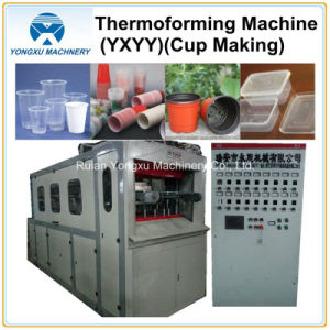 Plastic Forming for Cup Making Machine Thermoforming Machine (YXYY660) pictures & photos