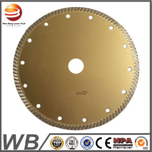 Fast Cutting Diamond Tools Sintered Super Thin Turbo Saw Blade for Marble and Granite pictures & photos