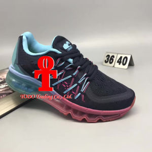 Hot Sale Comfortable Design Nk Sole Air Cushion Running Shoes pictures & photos