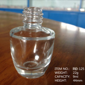 9ml Empty Clear Nail Polish Glass Bottle pictures & photos