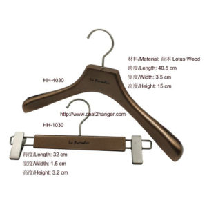Hot Sale Female Wooden Clothes Hanger pictures & photos