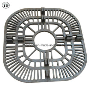 Low Price High Strenth Ductile Cast Iron Tree Gratings with Black Bitument Painting