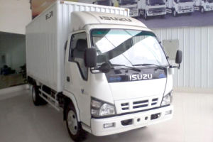 Isuzu 600p Single Row Van (CORRUGATED BOARD/ALUMINUM BOX/STEEL BOX) pictures & photos