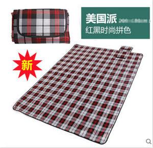 Wholesale American Pie Microfiber PEVA Pincnic Blanket pictures & photos