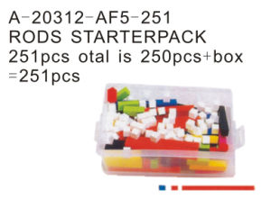 Educational Toy, Rods Starter Pack, Cubes and Rods Box (A-20312-AF5-251)