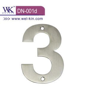 Sign Plate Hardware for Wooden Door (DN-001d)