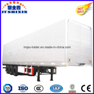 3 BPW Axle 40ton Capacity Aluminium Wing Opening Van/Box Bulk Cargo/Utility Heavy Tractor Semi Truck Trailer with Electric Control Door pictures & photos