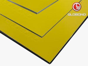 GLOBOND Plus PVDF Aluminium Composite Panel (PF-432 Yellow) pictures & photos