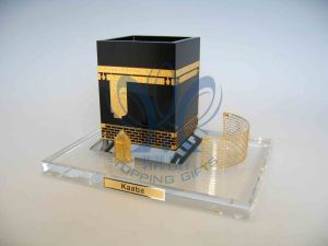 Kaaba (Crystal and Gold Model) Medium