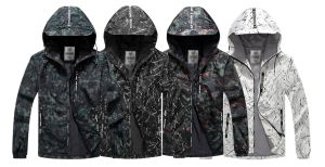 Men′s 2017 Lightweight Spring Camouflage Style Jacket pictures & photos