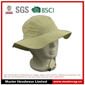 New Style Polyester Outdoor Bucket Fish Hat for Adults Size pictures & photos