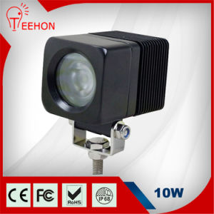 CE IP68 Certification and LED Lamp Type 10W LED Work Lights for Car and SUV pictures & photos