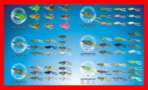 Soft Frog Lure (FGA70 FGB130 FGC125 FGD120 FGE130 FGF)