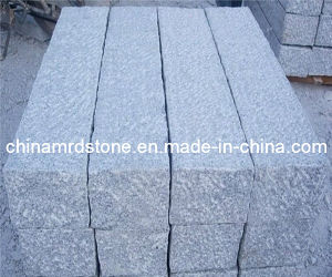 Saw Cutting or Flamed White Granite Kerb for Garden