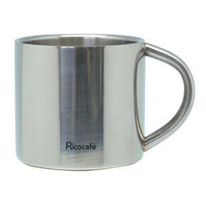 Stainless Steel Double Wall Espresso Cup 90ml pictures & photos