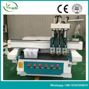 3 Heads Woodworking Machine Atc CNC Router pictures & photos