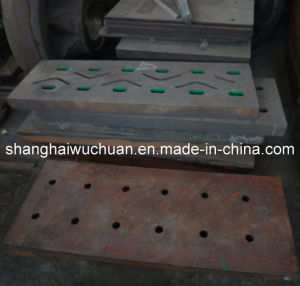 Manganese Casting Parts for Metal Shredder Crusher pictures & photos