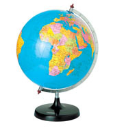 Paper World Earth Globe Maps for Education (M12-2)