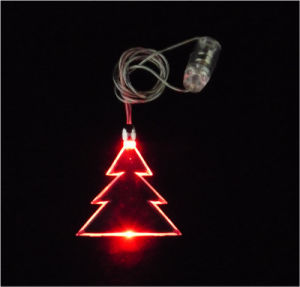 Flashing Christmas Gift - Necklace (QNK-101) pictures & photos