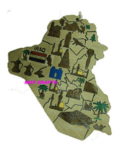 Iraq Souvenirs Magnet, Iraq Tourist 3D Gifts pictures & photos