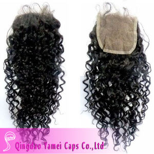 Fashion Chinese Virgin Hair Lace Closure (YM-W-014)