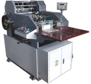 Full Automatic Red Paper Bag Pasting Machine  (ZD-248)