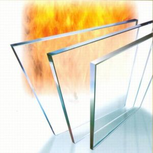 Fire Resistant Glass for Building, Door, or Fire Place pictures & photos