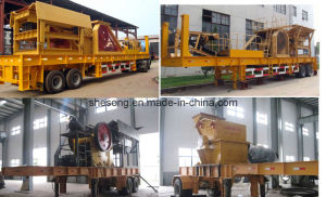 High Quality Mobile Crushing Production Line From China pictures & photos