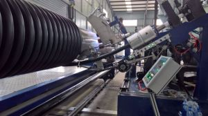 HDPE/PP Profiled Spiral Winding Pipes Production Line pictures & photos
