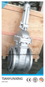A216 Wcb Hand Wheel Cast Steel Flange Wedge Gate Valves pictures & photos