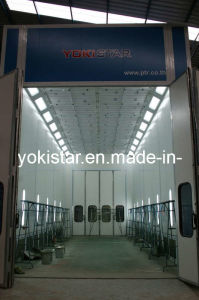 Downdraft Ventilation Large Car Paint Spray Booth pictures & photos