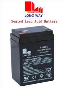 12V2.6ah Children Cars Rechargeable Lead Acid Battery pictures & photos