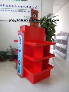 Creative Cardboard Pallet Display for Toys with Foldable Design, 2-Sides for Demonstrating The Products for Promotion! pictures & photos