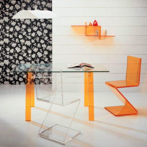 Acrylic Dining Table (AT022)