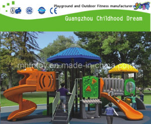 Good Quality New Design Plastic Outdoor Playground for Sale (H13-10136) pictures & photos